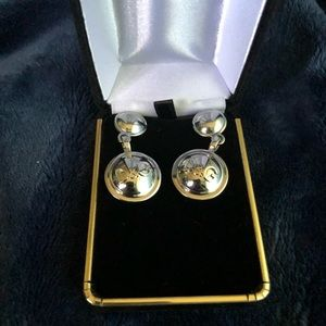 NWOT Dolce and Gabbana Silver Tone Earrings